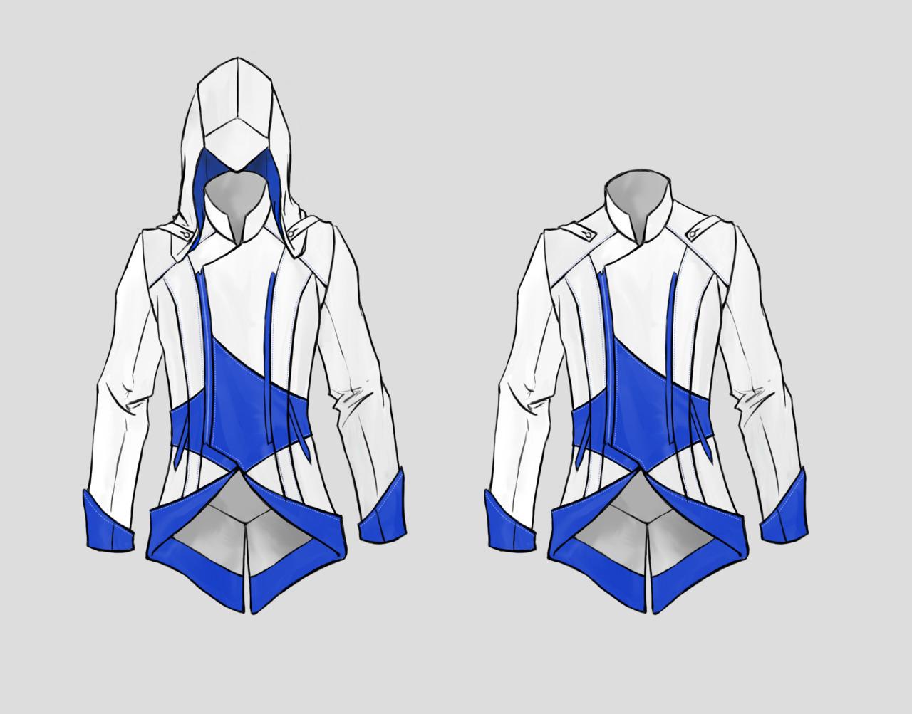 Как сделать костюм коннора