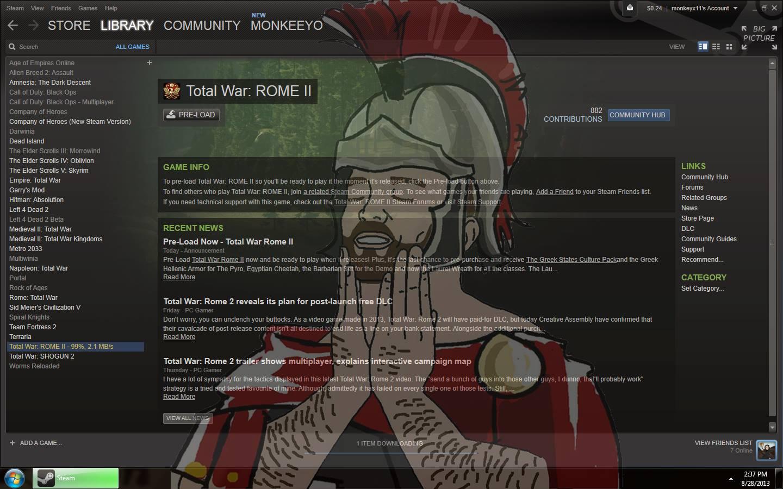 Total War Rome 2 Торрент Патчи