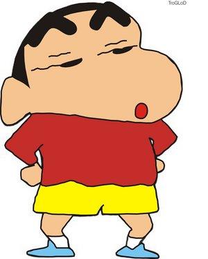 Gambar Crayon Shinchan