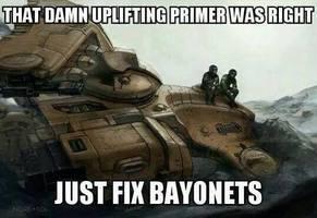 Always listen to the primer.
