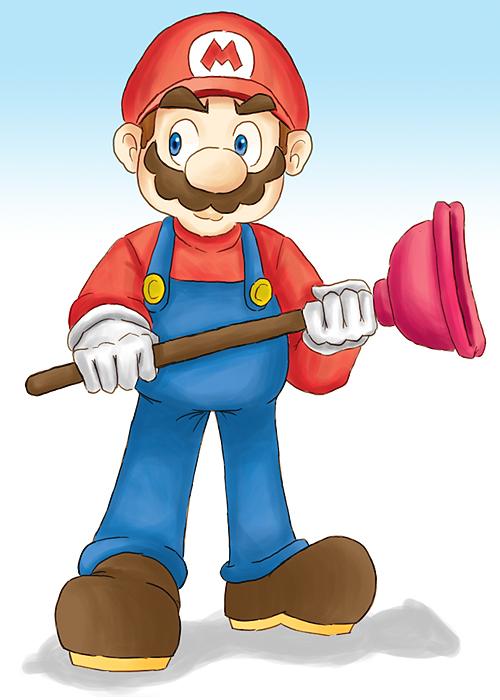 Resultado de imagem para super mario plumber