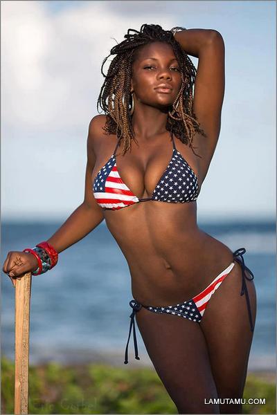 Hot black sexy girl — photo 4